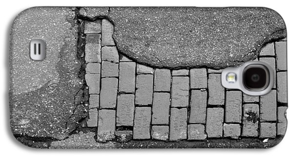 Road Textures Galaxy S4 Case by Mike McGlothlen