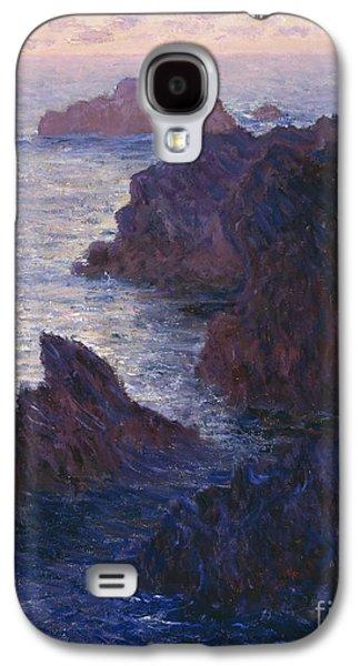 Rocks At Bell Ile Port Domois Galaxy S4 Case