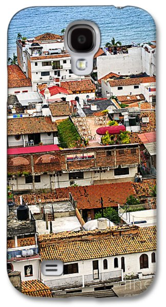 Rooftops In Puerto Vallarta Mexico Galaxy S4 Case