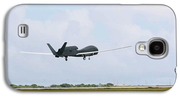 Rq-4 Global Hawks First Flight Galaxy S4 Case by Photo Researchers