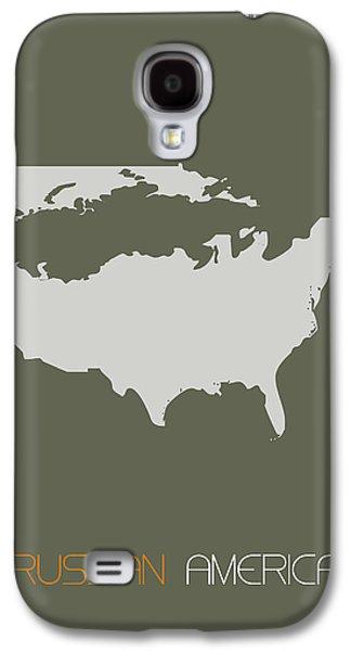 Russian America Poster Galaxy S4 Case