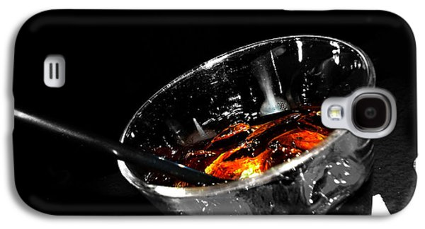 Rye And Coke Please Galaxy S4 Case