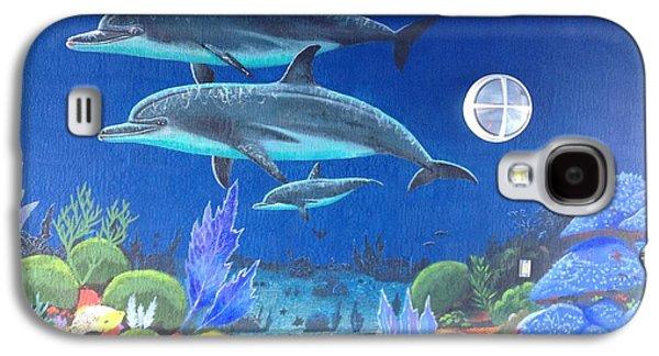Sailfish Splash Park 2 Galaxy S4 Case by Carey Chen