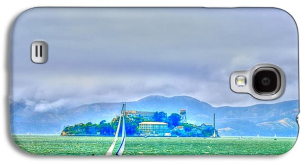 Sailing To Alcatraz Galaxy S4 Case by Alberta Brown Buller