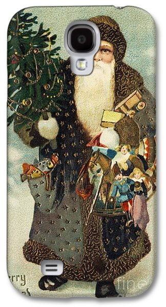 Santa Claus With Toys Galaxy S4 Case by American School