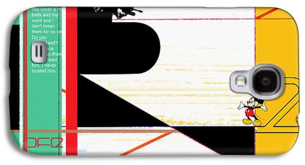 Scarface Galaxy S4 Case by Naxart Studio