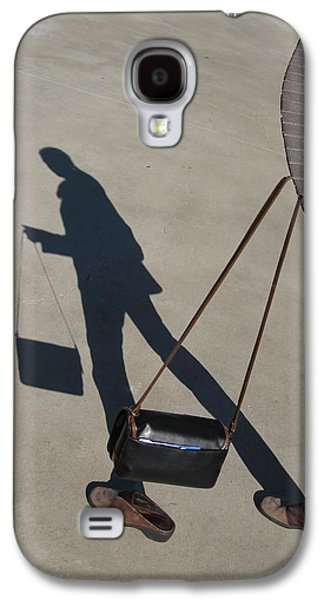 Shadowing Me Galaxy S4 Case by Nikki Marie Smith
