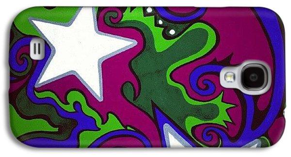 Cool Galaxy S4 Case - #sharpie Art #sharpiesquad2012 by Mandy Shupp