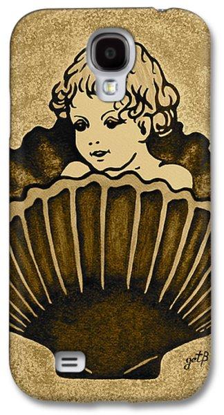 Shell With Child 3 Galaxy S4 Case by Georgeta  Blanaru