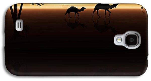 Ships Of The Desert Galaxy S4 Case by David Dehner