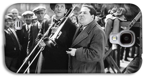 Trombone Galaxy S4 Case - Silent Still: Musicians by Granger