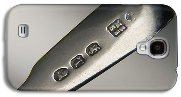 Silver Hallmarks, 1814 Galaxy S4 Case
