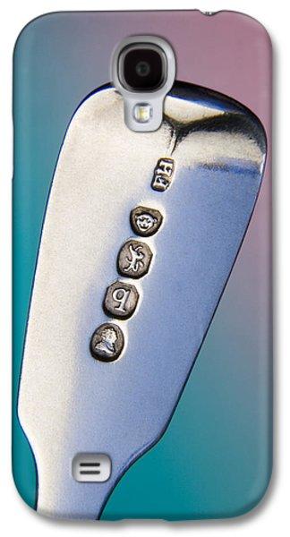 Silver Hallmarks, 1831 Galaxy S4 Case