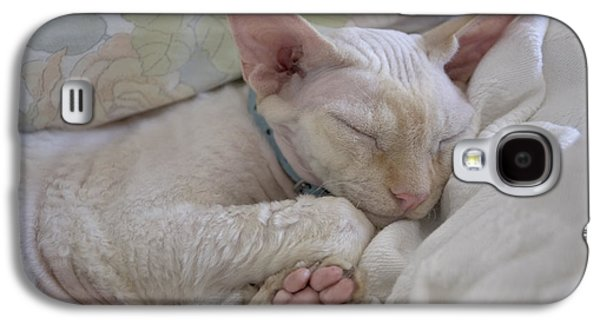 Sleepy Kitty Galaxy S4 Case