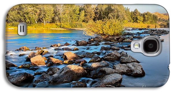 Smooth Rapids Galaxy S4 Case by Robert Bales