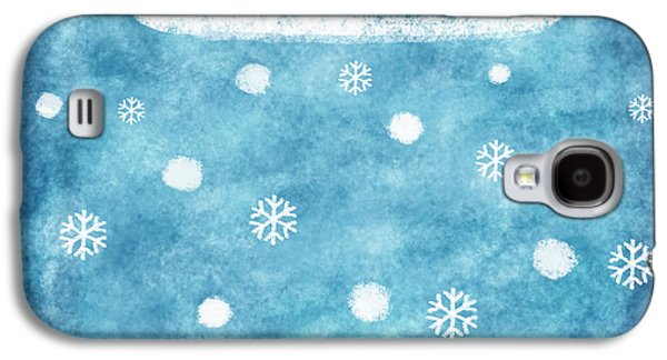 Snow Winter Galaxy S4 Case by Setsiri Silapasuwanchai