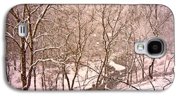 Snowy Country Day Galaxy S4 Case