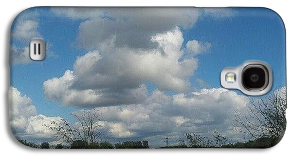 Sky Galaxy S4 Case - Soft And Fluffy by Abbie Shores