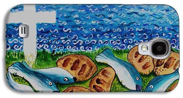 Soul Food Galaxy S4 Case by Caroline Street