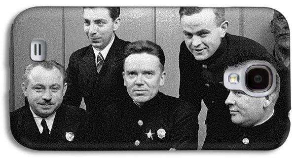 Soviet North Pole-1 Station Crew, 1939 Galaxy S4 Case