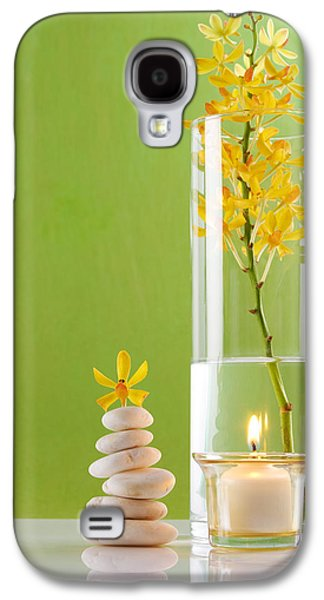 Spa Concepts With Green Background Galaxy S4 Case by Atiketta Sangasaeng