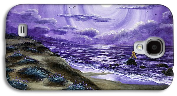 Spying A Mermaid From Flowering Sand Dunes Galaxy S4 Case by Laura Iverson