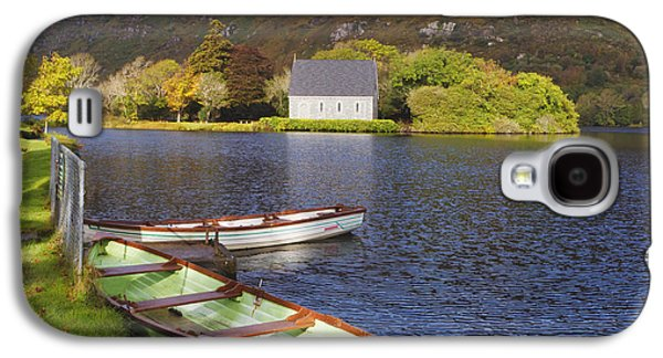 St. Finbarres Oratory And Rowing Boats Galaxy S4 Case by Ken Welsh