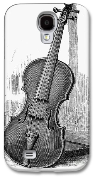 Violin Galaxy S4 Case - Stainer Violin by Granger