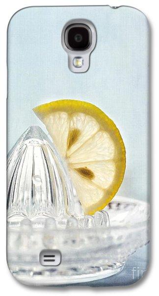 Still Life With A Half Slice Of Lemon Galaxy S4 Case by Priska Wettstein