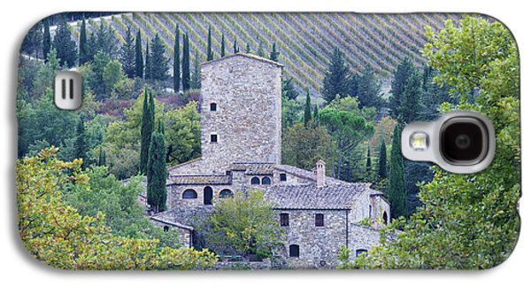 Stone Farmhouse Near Montefioralle Galaxy S4 Case by Jeremy Woodhouse