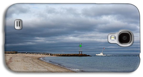 Stormy Evening Bass River Jetty Cape Cod Galaxy S4 Case