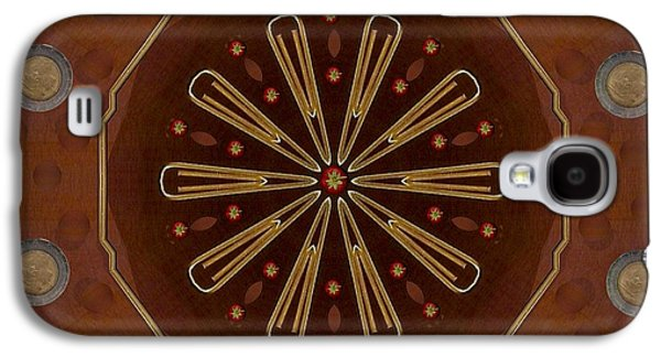 Strawberry Star Pop Art Galaxy S4 Case by Pepita Selles