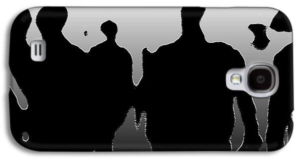 Street Walkers Galaxy S4 Case by Empty Wall