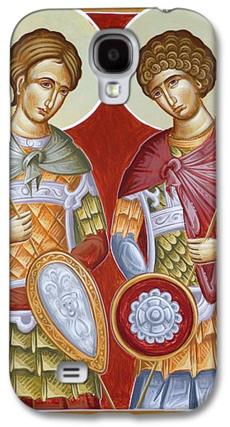 Sts Dimitrios And George Galaxy S4 Case by Julia Bridget Hayes