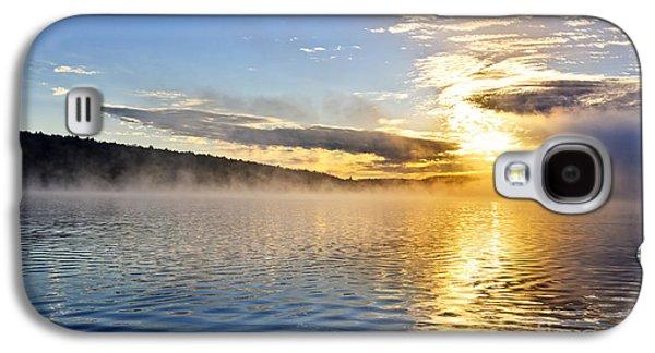 Sunrise On Foggy Lake Galaxy S4 Case