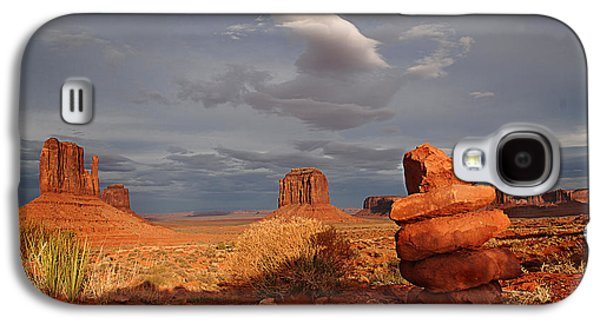 Sunset At Monument Valley Galaxy S4 Case