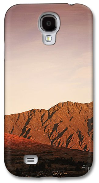 Sunset Mountain 2 Galaxy S4 Case by Pixel Chimp