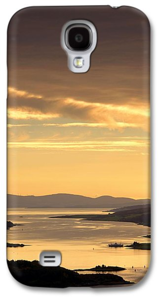 Sunset Over Water, Argyll And Bute Galaxy S4 Case by John Short