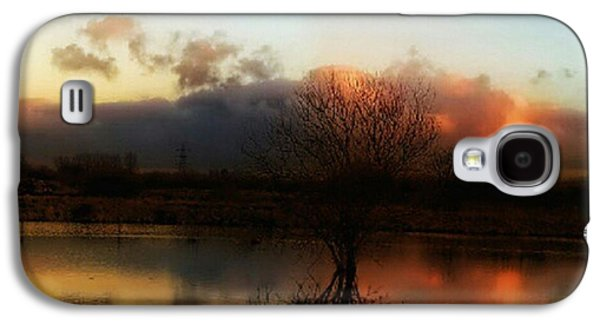 Light Galaxy S4 Case - Sunset Reflections by YoursByShores Isabella Shores