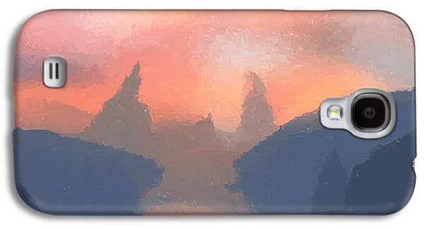 Sunset Valley  Galaxy S4 Case by Pixel  Chimp