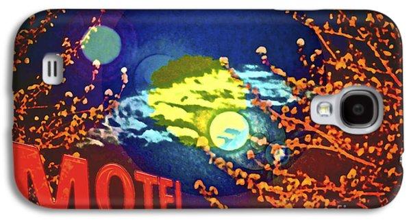 Super Moon Motel Galaxy S4 Case by Gwyn Newcombe