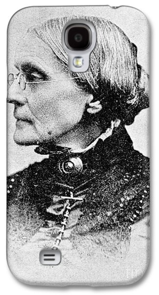 Susan B. Anthony, American Civil Rights Galaxy S4 Case by Photo Researchers, Inc.