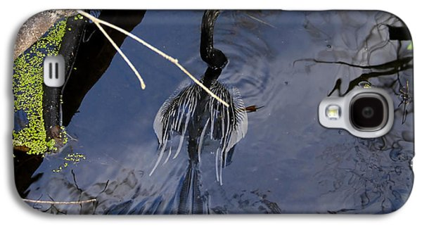 Swimming Bird Galaxy S4 Case by David Lee Thompson
