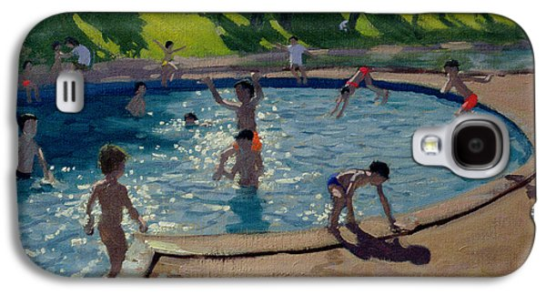 Swimming Pool Galaxy S4 Case by Andrew Macara