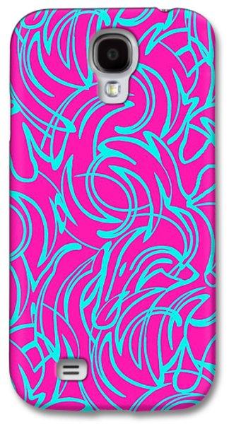 Swirls Galaxy S4 Case