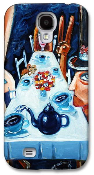 Tea By Night Galaxy S4 Case by Leanne Wilkes