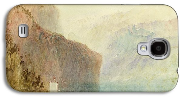 Tell's Chapel - Lake Lucerne Galaxy S4 Case by Joseph Mallord William Turner