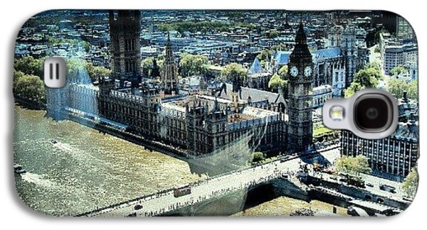 Follow Galaxy S4 Case - Thames River, View From London Eye | by Abdelrahman Alawwad