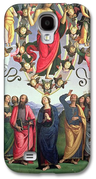 The Ascension Of Christ Galaxy S4 Case by Pietro Perugino
