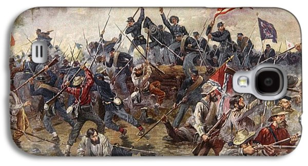 The Battle Of Spotsylvania Galaxy S4 Case by Henry Alexander Ogden